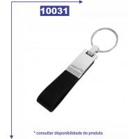 Chaveiro com alça de couro sintético 10031