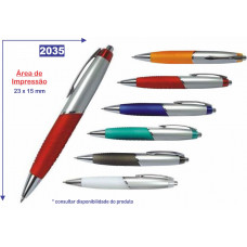 Caneta plástica 2035